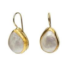 Forever Wild Pearl Earrings by Nava Zahavi - New Arrival