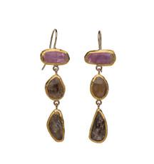 Elizabeth Sapphire Earrings by Nava Zahavi - New Arrival