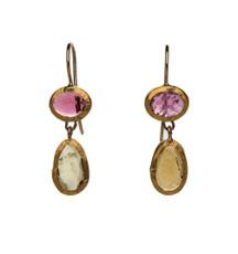Harmony Tourmaline Earrings by Nava Zahavi - New Arrival