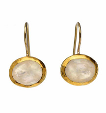 Moonlight Moonstone Earrings by Nava Zahavi - New Arrival
