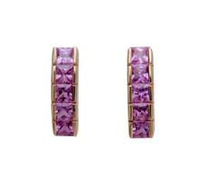 Pink Sapphire Earrings by Nava Zahavi - New Arrival