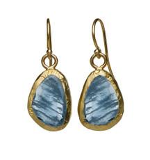 Sheer Joy Aquamarine Earrings by Nava Zahavi - New Arrival