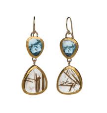 Spiritual Love Earrings by Nava Zahavi - New Arrival