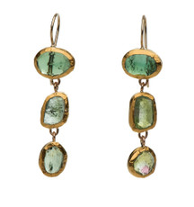 Tourmaline Trio Earrings by Nava Zahavi - New Arrival