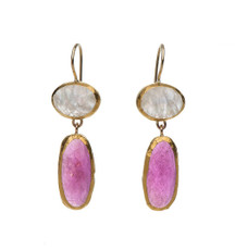 Violet Earrings by Nava Zahavi - New Arrival