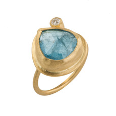 Romance Gold Ring by Nava Zahavi - New Arrival