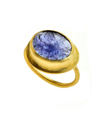 SkyFall Tanzanite Ring by Nava Zahavi - New Arrival