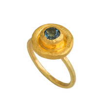 Bewitched Blue Topaz Ring by Nava Zahavi - New Arrival