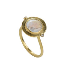 Rainbow Gold Ring by Nava Zahavi - New Arrival