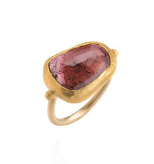 Rosalind Pink Tourmaline Gold Ring by Nava Zahavi - New Arrival