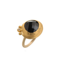 Cherish Life Garnet Gold Ring by Nava Zahavi - New Arrival