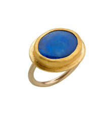 Mighty Opal Gold Ring by Nava Zahavi - New Arrival