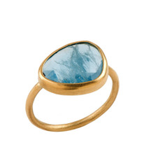 Heaven Blue Gold Ring by Nava Zahavi - New Arrival