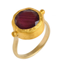 Holiday Ruby Ring by Nava Zahavi - New Arrival