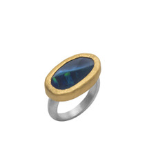 Great Shield Ring by Nava Zahavi - New Arrival