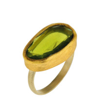 Sweet Green Tourmaline Ring - New Arrival