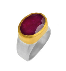 Obsession Ruby Ring by Nava Zahavi - New Arrival
