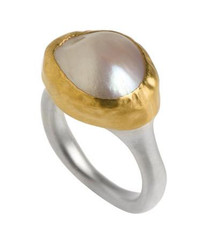 Luscious Pearl Ring by Nava Zahavi - New Arrival