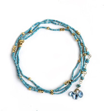 Endless Turquoise Bracelet by Nava Zahavi - New Arrival