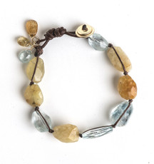 Magnificent Aquamarine Bracelet - New Arrival