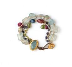 Happiness Aqua Bracelet - New Arrival
