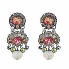 Ayala Bar Como Tiny Petal Of A Rose Earrings
