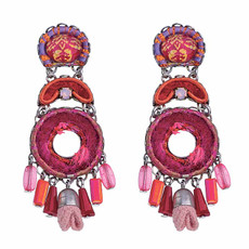 Ayala Bar Gaillardia Dragonfruit Earrings