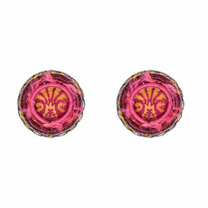 Ayala Bar Gaillardia Strawberry Sherbet Earrings