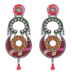 Ayala Bar Strawberry Field Elle Post Earrings