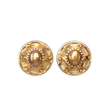 Michal Golan Citrine Post Earrings