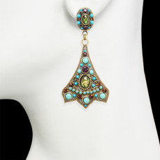 Michal Golan Kasbah Drop Post Earrings