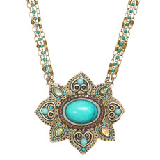 Michal Golan Kasbah Flower Necklace