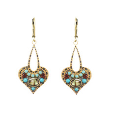 Michal Golan Kasbah Open Drop Lever Back Earrings
