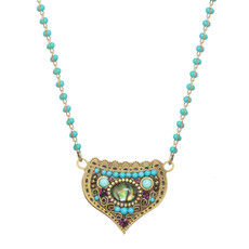 Michal Golan Kasbah Lotus Necklace