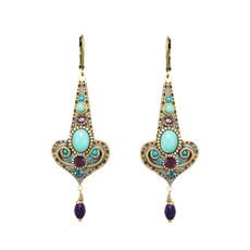 Michal Golan Kasbah Motif Drop Earrings