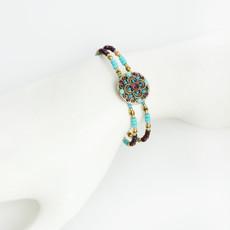 Michal Golan Kasbah Flower Bracelet