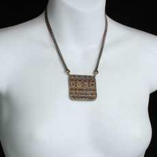 Michal Golan Canyon Big Square Necklace