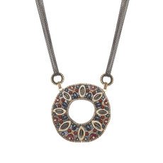 Michal Golan Canyon Open Circle Necklace