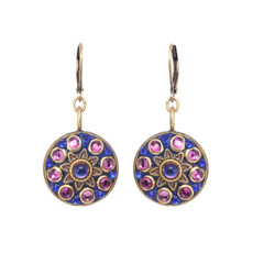 Michal Golan Midnight  Star Flower Earrings