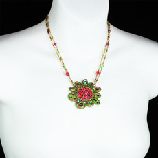 Michal Golan Flower Necklace