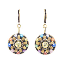 Michal Golan Dark Flower Earrings