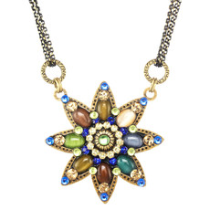 Michal Golan Dark Star Flower Necklace