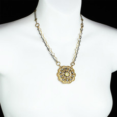 Michal Golan Marigold Flower Necklace
