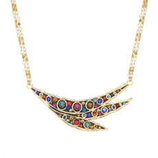 Michal Golan Cosmic Crescent Necklace