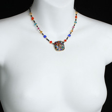 Michal Golan Cosmic Square Necklace