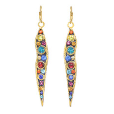 Michal Golan Michal Golan Cosmic Long Icicle Wire Earrings
