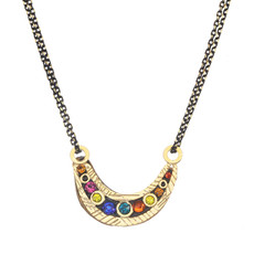 Michal Golan Michal Golan Cosmic Small Crescent Necklace