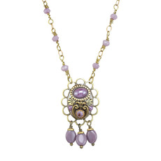 Michal Golan Michal Golan Lilac Dangling Necklace