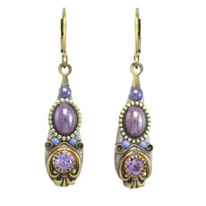 Michal Golan Michal Golan Lilac Drop Earrings