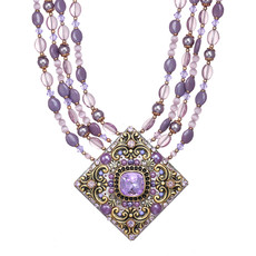 Michal Golan Michal Golan Lilac Large Diamond Necklace